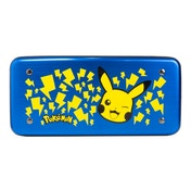 Official Nintendo Licensed Metal Premium Blue Pokemon Alumi Case for Nintendo Switch