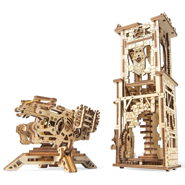 Model Rail Manipulator UGears 3D Wooden Model Kit