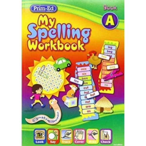 My Spelling Workbook: Book A by RIC Publications (Book, 2011)