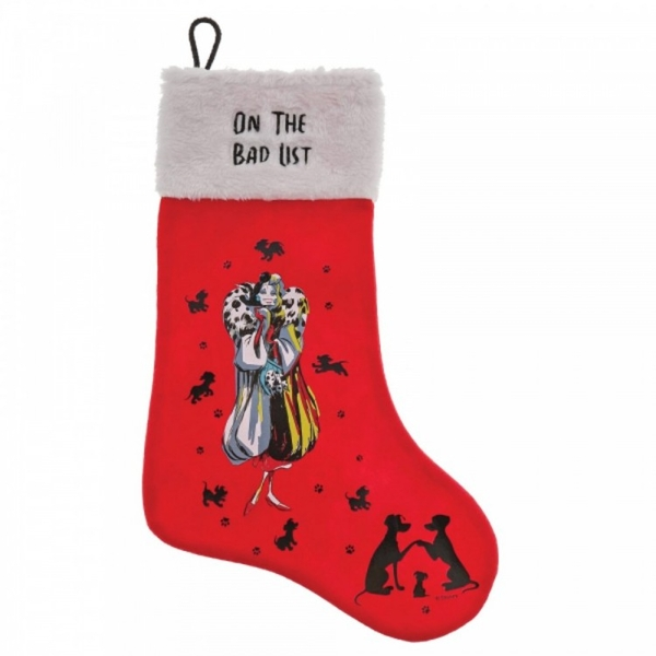 On The Bad List (Cruella De Vil) Stocking