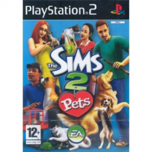The Sims 2 Pets Game PS2