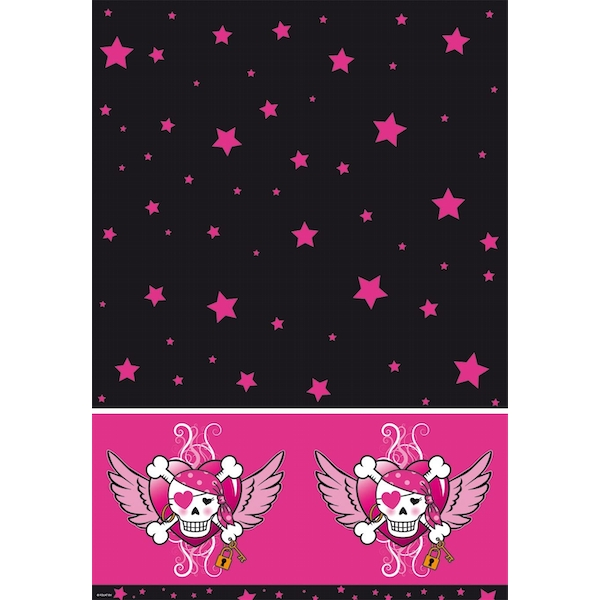 Pirate Girl Table Cover