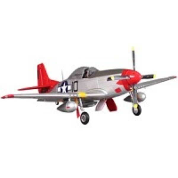 FMS P51 Mustang ARTF with Retract Red Tail (V8)