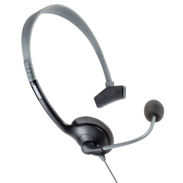 Hubb Accessories Headset Black and Grey Xbox 360