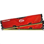 Team Group Vulcan RED 8GB (2x4GB) DDR3 PC3-19200C11 2400MHz Dual Channel Kit (TLRED38G2400HC11CDC01)