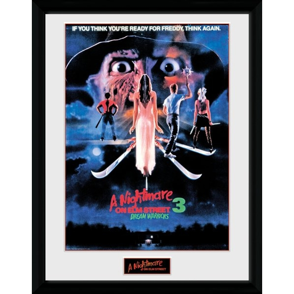 Nightmare On Elm Street Dream Warriors Collector Print
