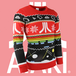 Atari - Official Atari Unisex Christmas Jumper Medium - Image 2
