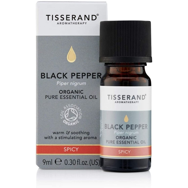 Tisserand Aromatherapy Black Pepper Organic Essential Oil 9ml