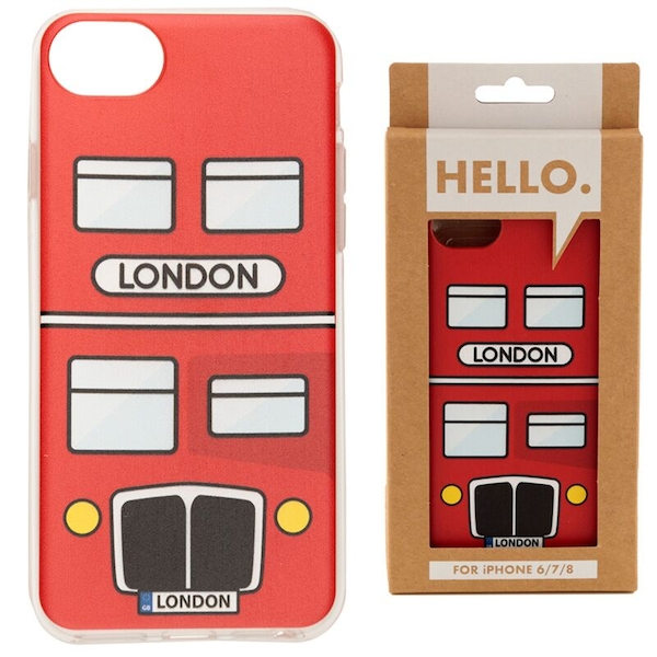 London Bus iPhone 6/7/8 Phone Case