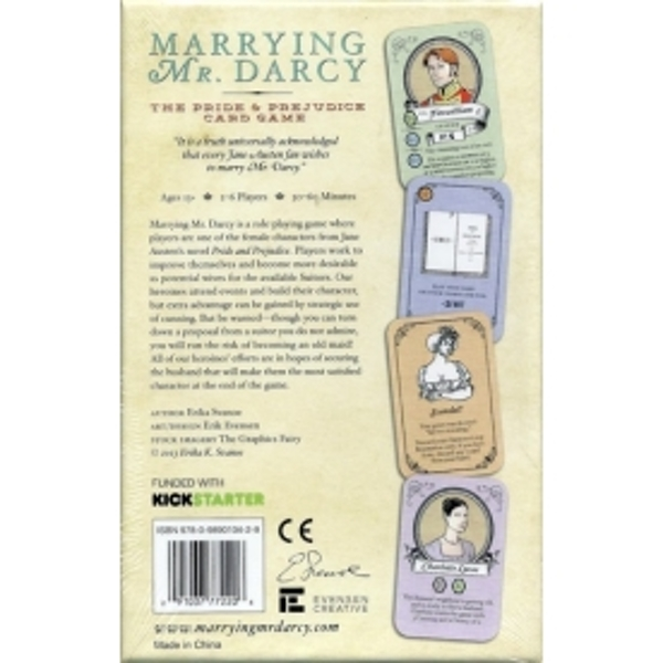 Marrying Mr. Darcy The Pride & Prejudice Card Game - Image 2