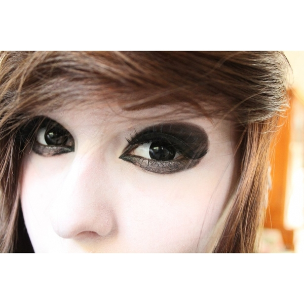 Black Out 1 Day Halloween Coloured Contact Lenses (MesmerEyez XtremeEyez) - Image 3
