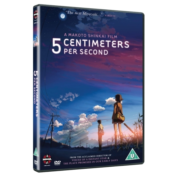 5 Centimetres Per Second DVD