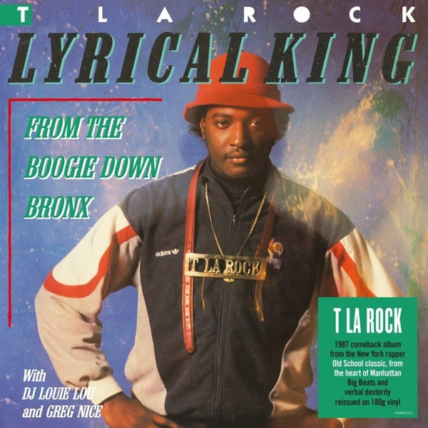 T La Rock - Lyrical King (From The Boogie Down Bronx) Vinyl