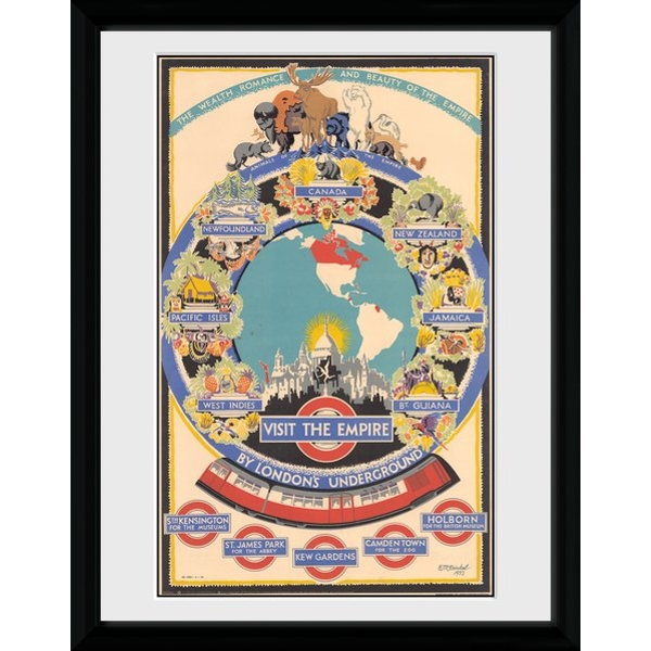 Transport For London Visit The Empire 2 Framed Collector Print