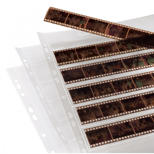 Polypropylene Negative Sleeves (7 strips for 6 negatives) (24x36mm)