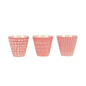 Sass & Belle Mini Pink Planters (Set of 3)