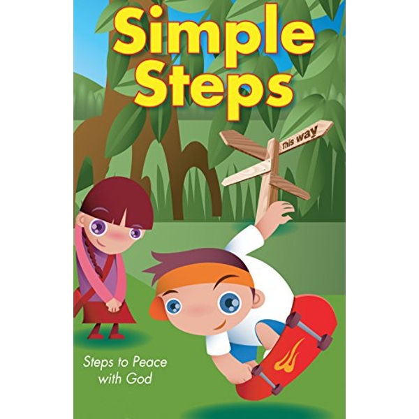 Simple Steps to Peace with God (Ats) (Pack of 25)  Shrink-wrapped pack 2017