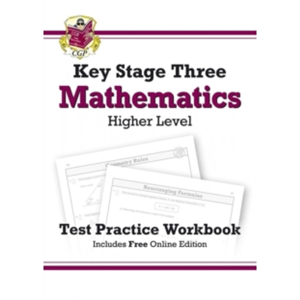 KS3 Maths Test Practice Workbook - Higher by CGP Books (Paperback, 2014)