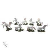 Magic Woodland (Pack Of 8) Unicorns Figures