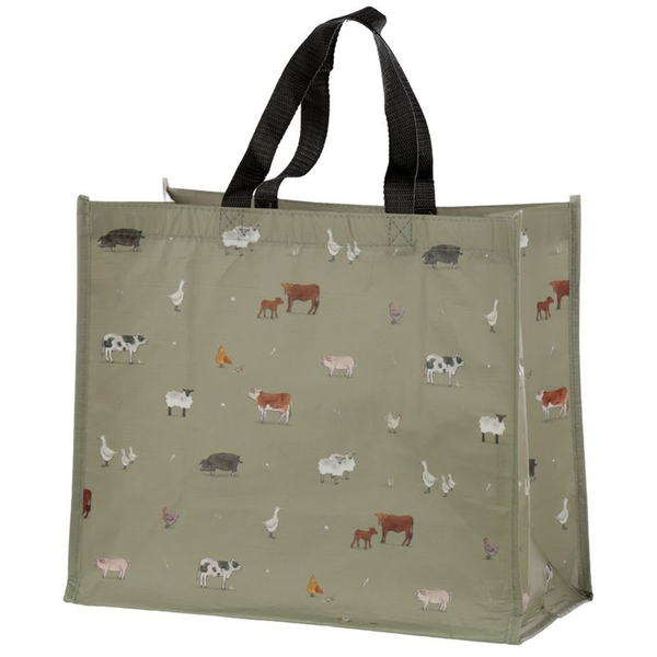 Willow Farm Recycled Plastic Bottles RPET Reusable Shopping Bag