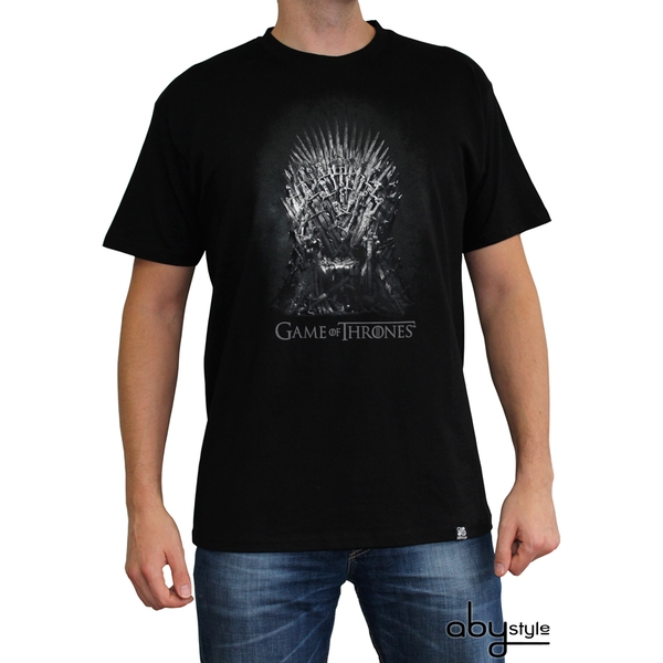 Game Of Thrones - Iron Throne Men's Small T-Shirt - Black