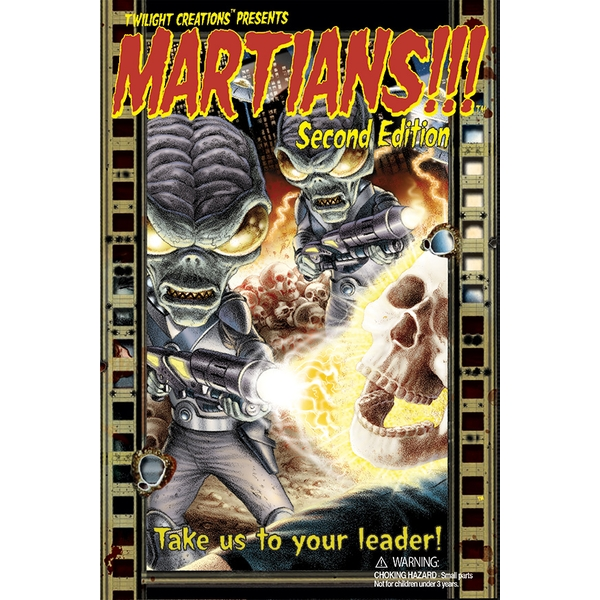 Martians!!! Second Edition Board Game