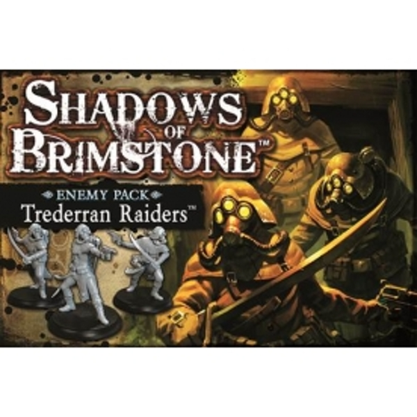 Shadows Of Brimstone Trederran Raiders Enemy Pack Board Game