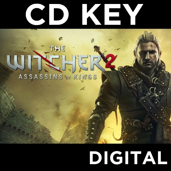 The Witcher 2 Assassins Of Kings PC CD Key Download for GOG