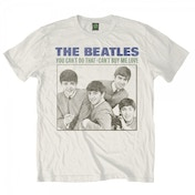 The Beatles You Cant Do That Mens White T-Shirt Large