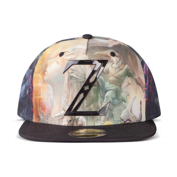 NINTENDO The Legend of Zelda Mystical All-over Print Snapback Baseball Cap