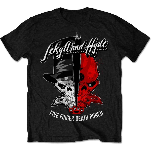Five Finger Death Punch - Jekyll & Hyde Men's Small T-Shirt - Black
