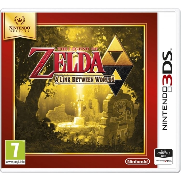 The Legend Of Zelda A Link Between Worlds 3DS Game (Selects) - Image 1