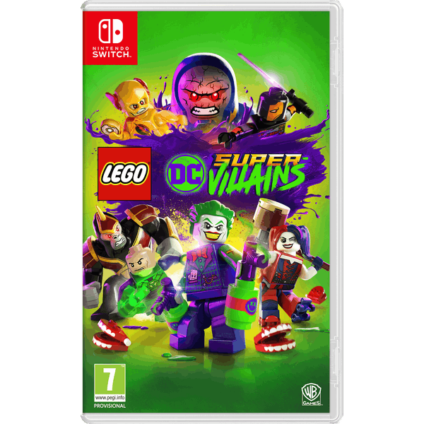 Lego DC Super Villains Nintendo Switch Game