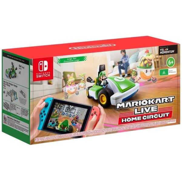 Luigi (Mario Kart) Live Home Circuit for Nintendo Switch