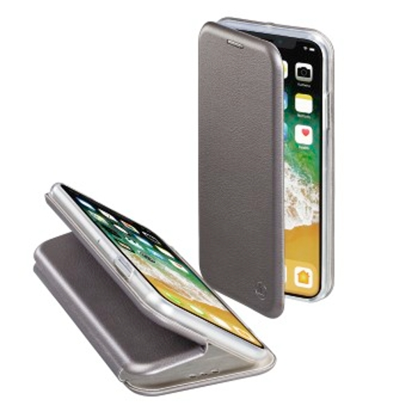 "Hama ""Curve"" Booklet for Apple iPhone X, anthracite"