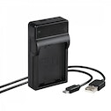 Hama Travel USB Charger for Nikon EN-EL14/14a