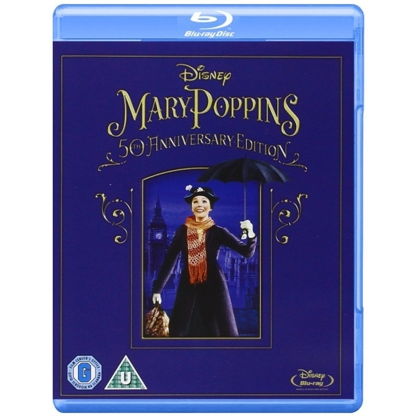 Mary Poppins 50th Anniversary Edition Blu-ray
