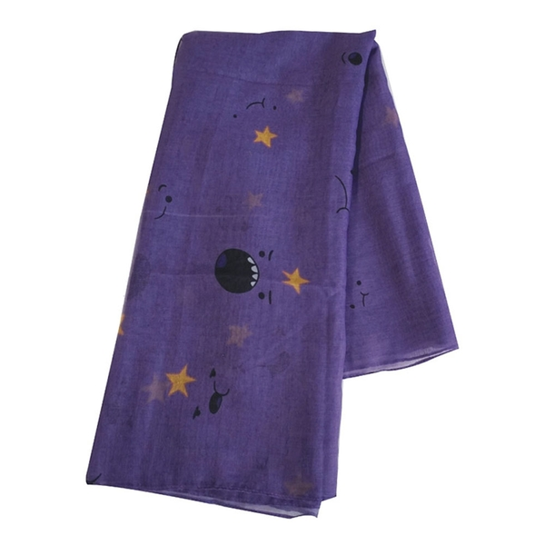 Adventure Time - Lumpy Space Princess Unisex Scarf - Purple