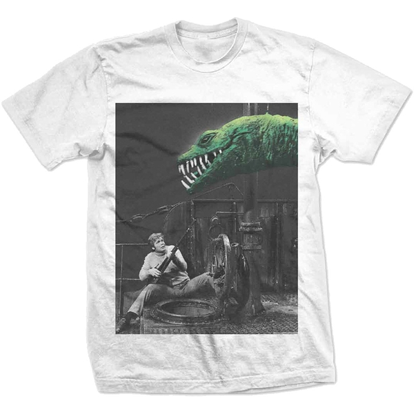 StudioCanal - The Land That Time Forgot Dino Pops Unisex Small T-Shirt - White