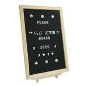 Felt Letter Board Message Sign | Pukkr 12x18In