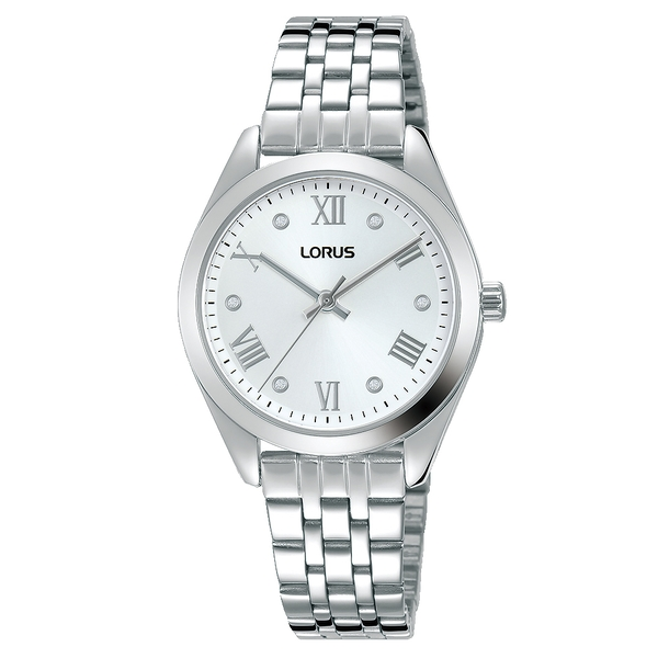 Lorus RG251SX9 Ladies Polished Case & Stainless Steel Bracelet Dress Watch