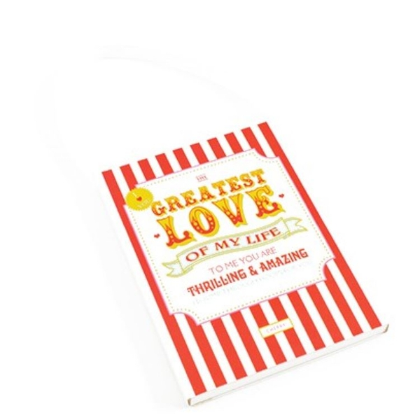 Greatest Love Cherry Scented Sachet By Heaven Sends