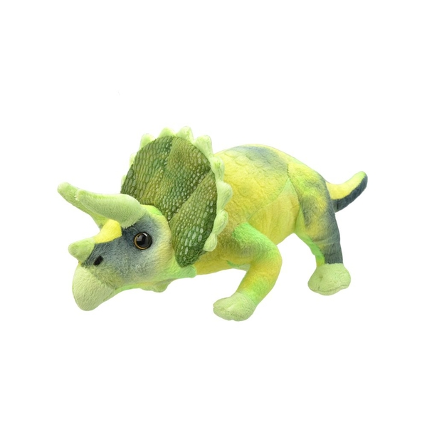 All About Nature Triceratops 25cm Plush