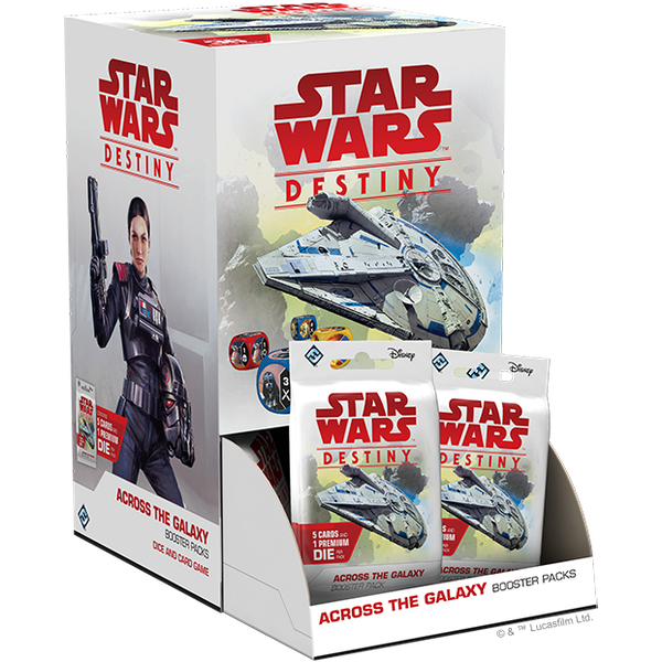Star Wars Destiny: Across the Galaxy Booster Box (36 Packs)