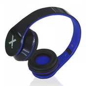 Approx (APPDJJAZZBKBL) DJ Jazz Headset, 3.5mm Jack, Foldable, Black & Blue