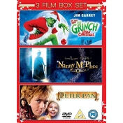 The Grinch / Nanny McPhee / Peter Pan DVD