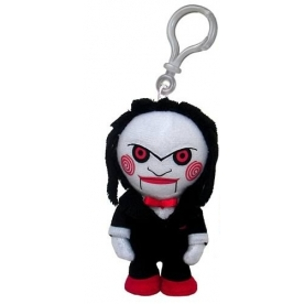 Saw Plush Clip On Keyring