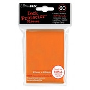 Ultra Pro Small Orange 50 Deck Protectors - 10 Packs