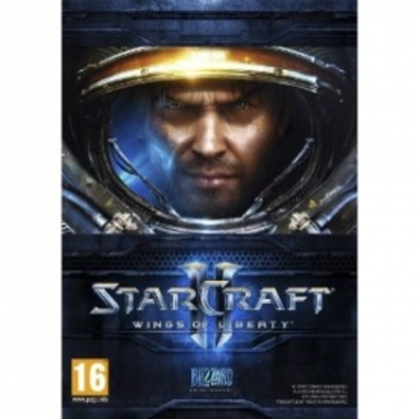 Ex-Display StarCraft II 2 Wings Of Liberty Game PC & MAC