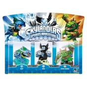 Zap, Hex, and Dino-Rang (Skylanders Spyro's Adventure) Triple Character Pack E